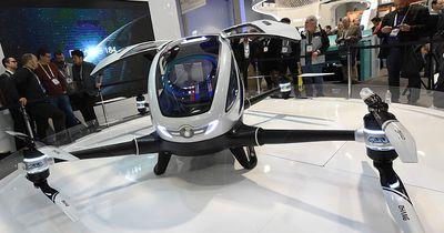 Weltweit erste Drohne mit Passagier an Bord