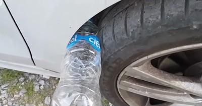 Hinterhältige Masche: Autodiebe nutzen Plastikflaschen