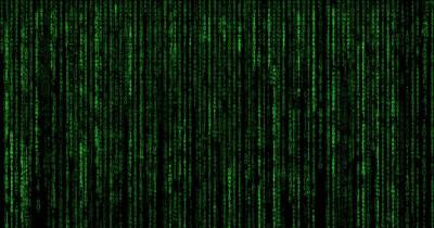 Die Bedeutung des grünen Matrix-Codes