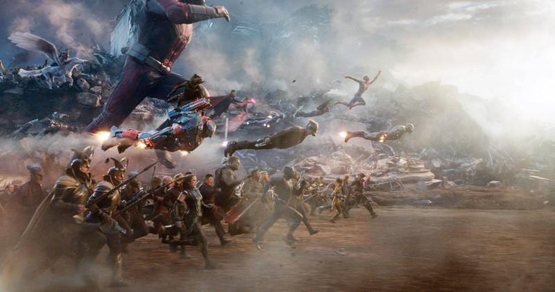 Bei Marvels Avengers End Game sieht man viele der Superhelden, die Stan Lee einst erschuf.