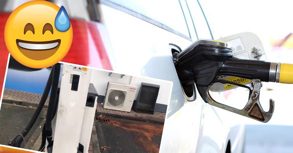 Benzin statt Diesel: So wollte der Tank-Trottel das Problem lösen