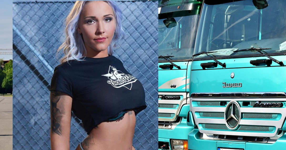 Sabrina ps prinzessin nackt | German Trucker Babe Set to