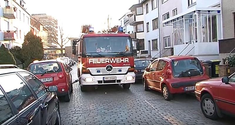 Wenn die Feuerwehr behindert wird