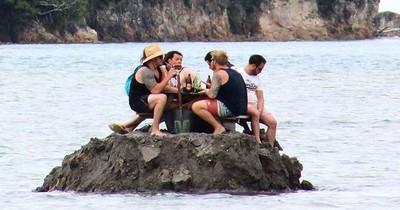 In der Küstenstadt herrschte ein Alkoholverbot