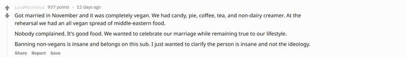 Dort erhält die Braut aber nicht viel Zuspruch