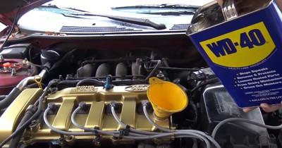 WD-40 statt Motorenöl: Damit erleben die Youtuber ihr blaues Wunder