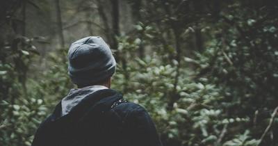 Er versteckte sich fünf Jahre im Wald, weil seine Frau ihn nervte