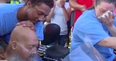 Er lag schon im Sterben - dann erfüllen ihm 200 Biker seinen letzten Wunsch