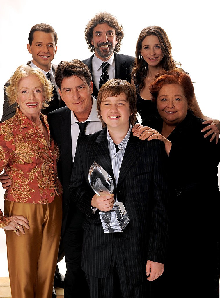"Der Cast von ""Two and a Half Men"""