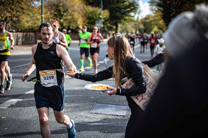 Das Bild zeigt einen Läufer