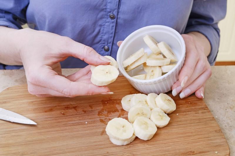 Bananen sind gut für Muskelaufbau