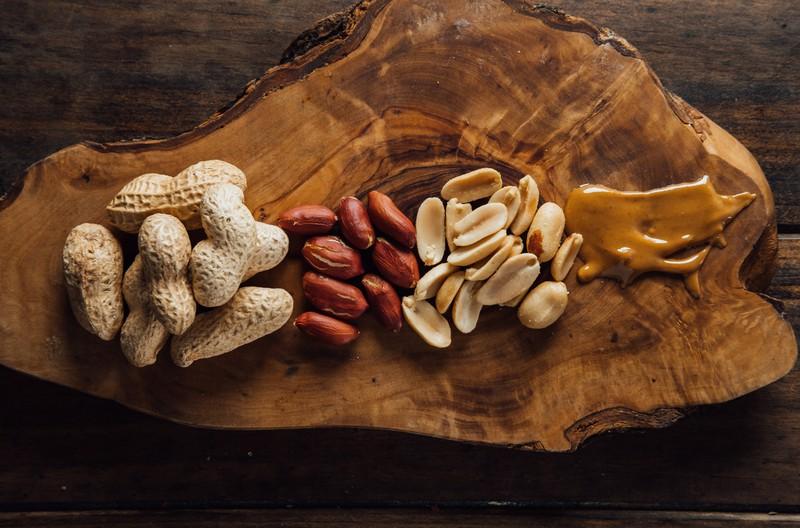 Erdnüsse und Co. sind gesund.