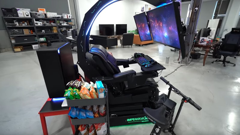 Der Gaming Chair von Lewis Hilsenteger