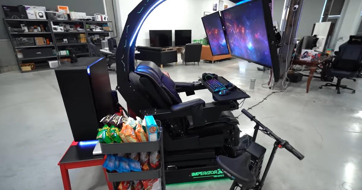 Gaming Stuhl für satte 26.000 Euro: Ein Mann hat sich seinen Traum erfüllt