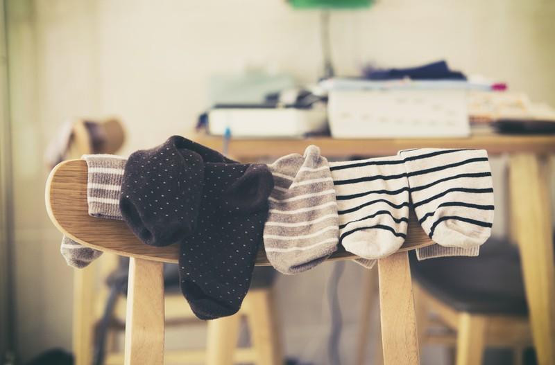 dreckige Socken nerven Frauen