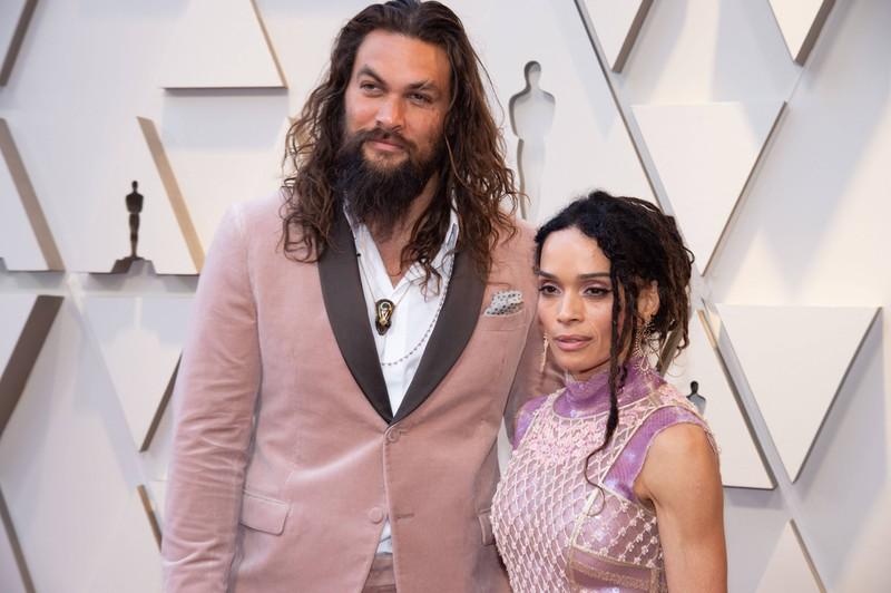 """,,Aquaman""""-Schauspieler Jason Momoa und seine Frau Lisa Bonet"""