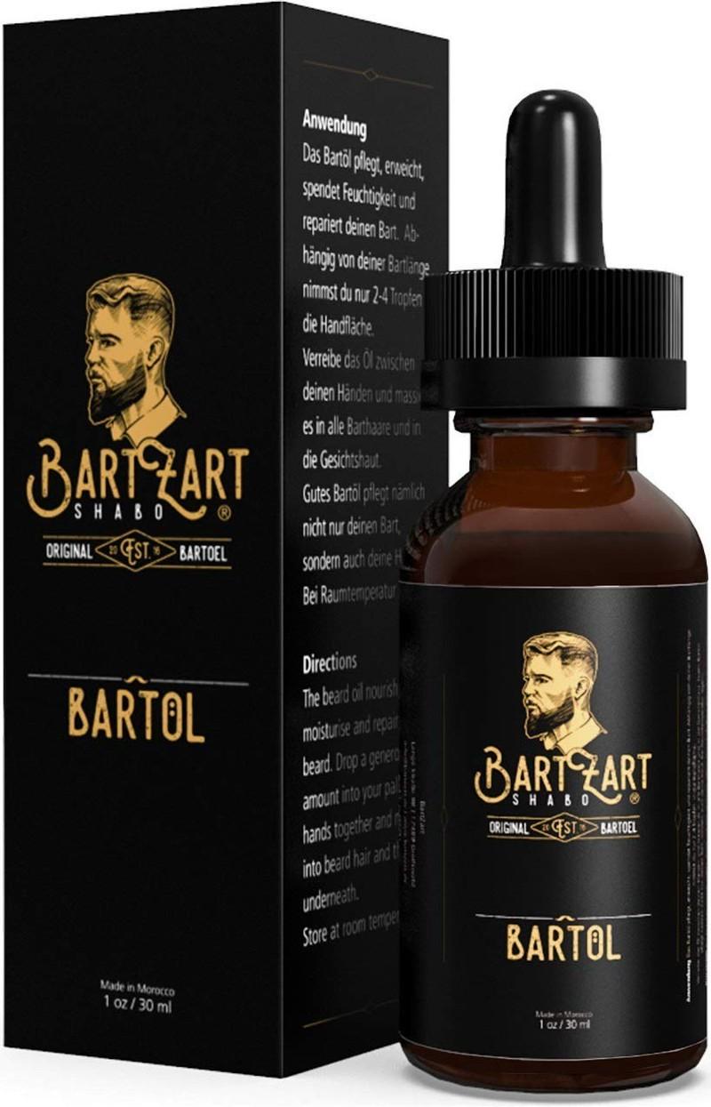 Um einen volleren Bart zu erhalten kann man das Bartöl mit Arganöl benutzen