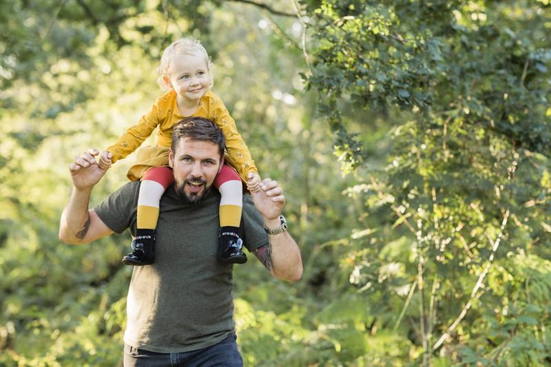 Für Männer kann es sehr bereichernd sein, Vater zu werden.