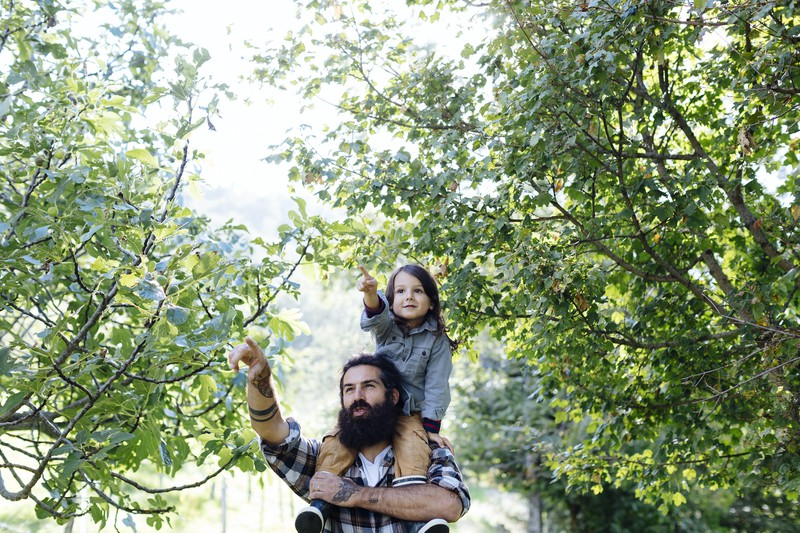 Mit Kindern erlebt man die Welt aus einer neuen Perspektive.