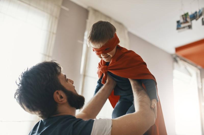 Wenn man bereit für ein Kind ist, möchte man auch ein Vorbild sein.
