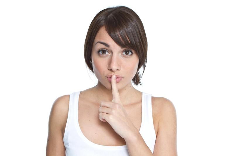 Frauen haben Geheimnisse die sie Männern nie erzählen würden