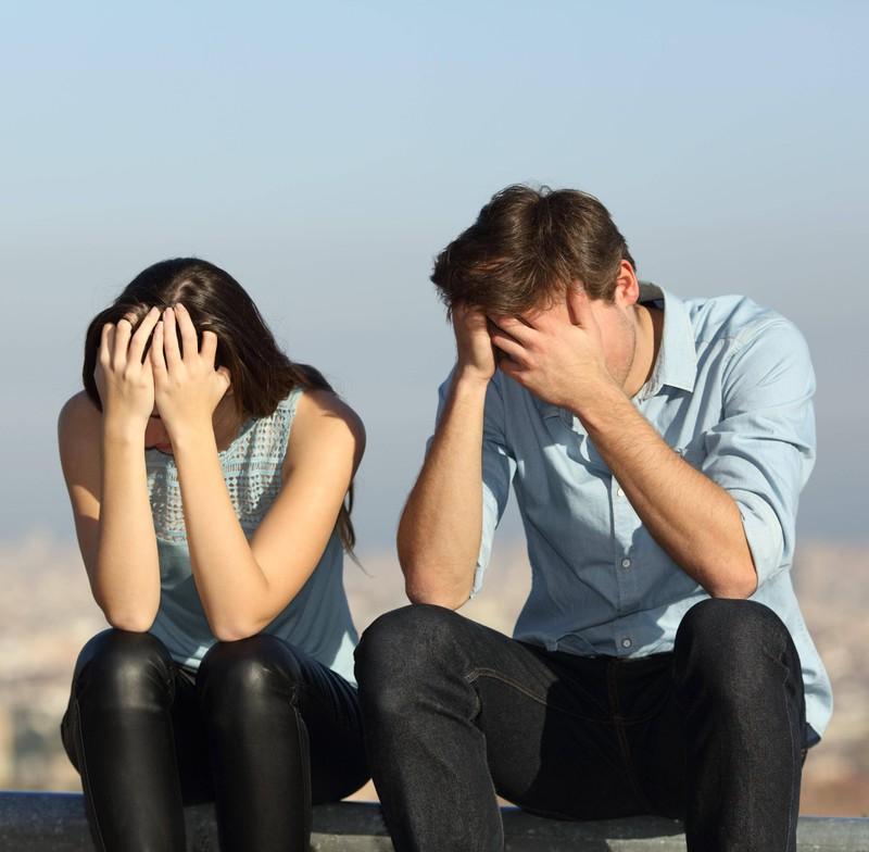 Wenn ein Paar nicht mehr ein Ganzes ist, hat sie vielleicht eine neue Beziehung.