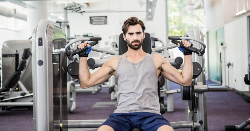 Für den Muskelaufbau ist es wichtig, dass du beim Training Gewichte benutzt, die schwer genug für dich sind.