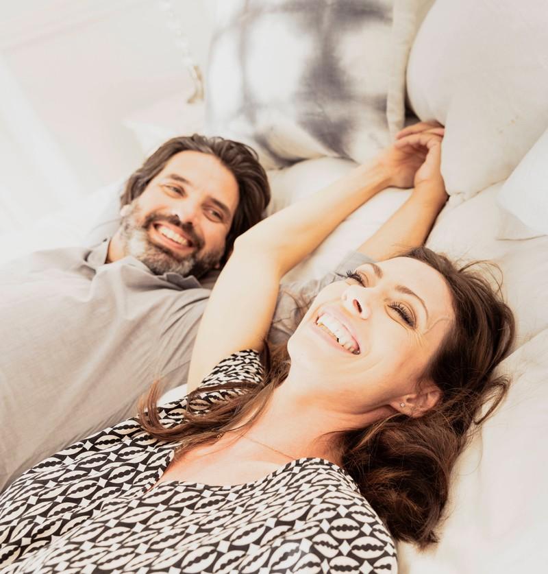 Wenn man zusammen lachen kann, sollte man das ruhig seinem Partner sagen.