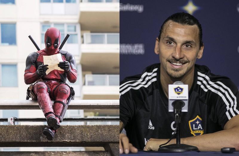 Ein Quiz, mit dem man testen kann, wer welchen Satz gesagt hat: Zlatan Ibrahimovic oder Deadpool?