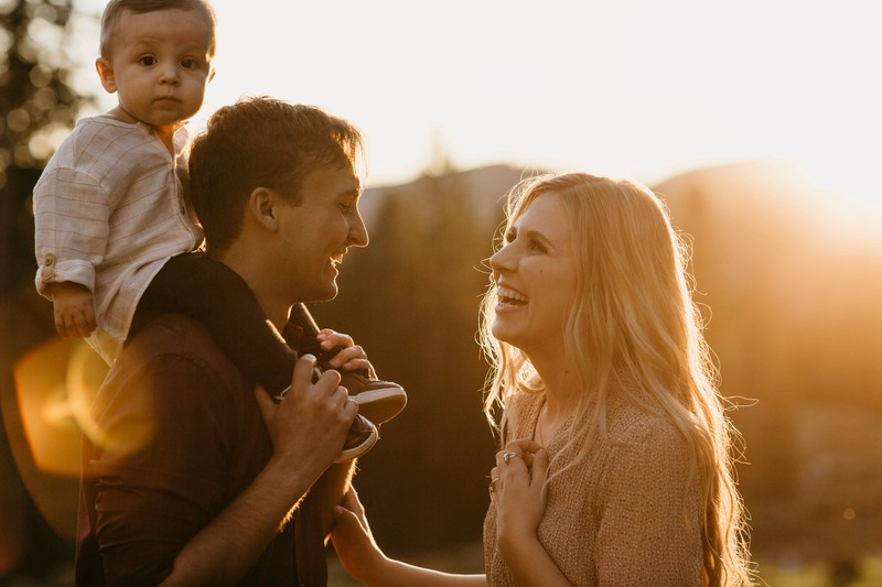 Vatereigenschaften sind gelten heute als besonders männlich.