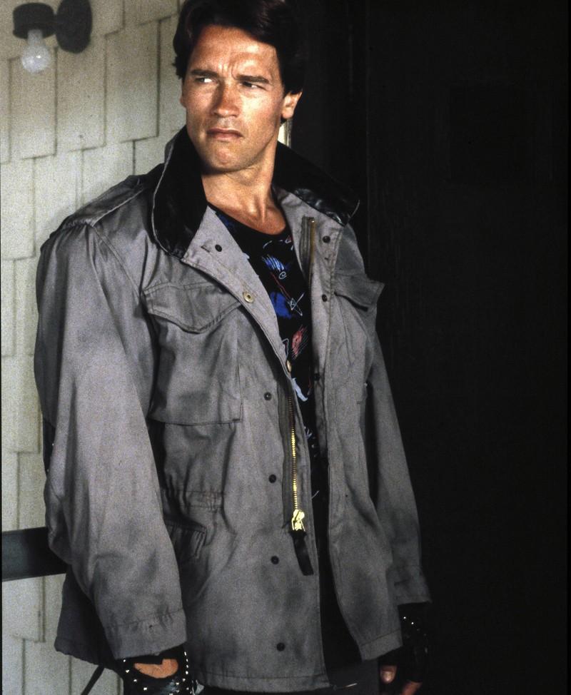 Arnold Schwarzenegger am Anfang seiner Karriere.