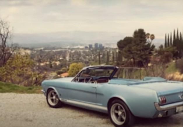 So sah der Mustang von Jason Momoas Frau früher aus.