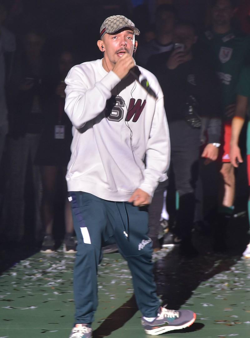 "Rapper ""Capital Bra"" trat 2014 bei ""Rap am Mittwoch"" auf."