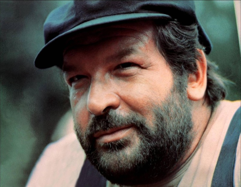 Auch ohne Trence Hill drehte Bud Spencer Filme.