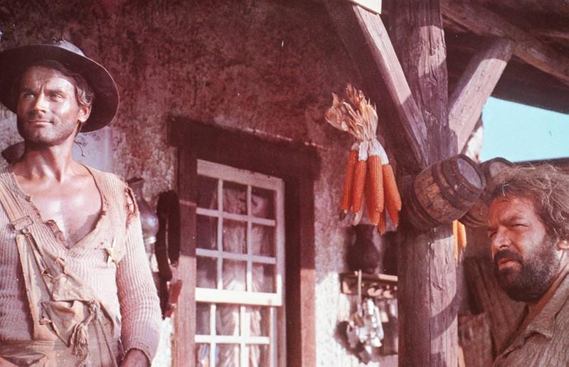 Die beiden Prügelknaben haben in über 20 Filmen mitgewirkt.