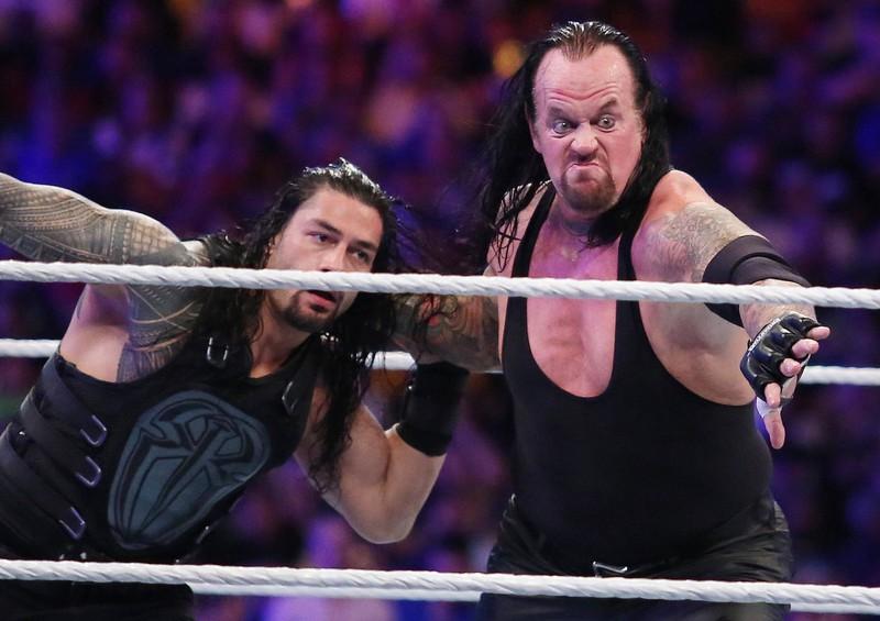 Wrestler The Undertaker ist mehrmals WWE-Champion gewesen.