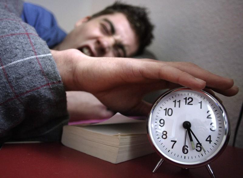 Schlafstörungen können ein weiterer Indikator sein.