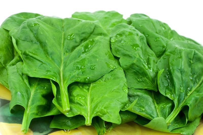 Eisen steckt auch in Spinat