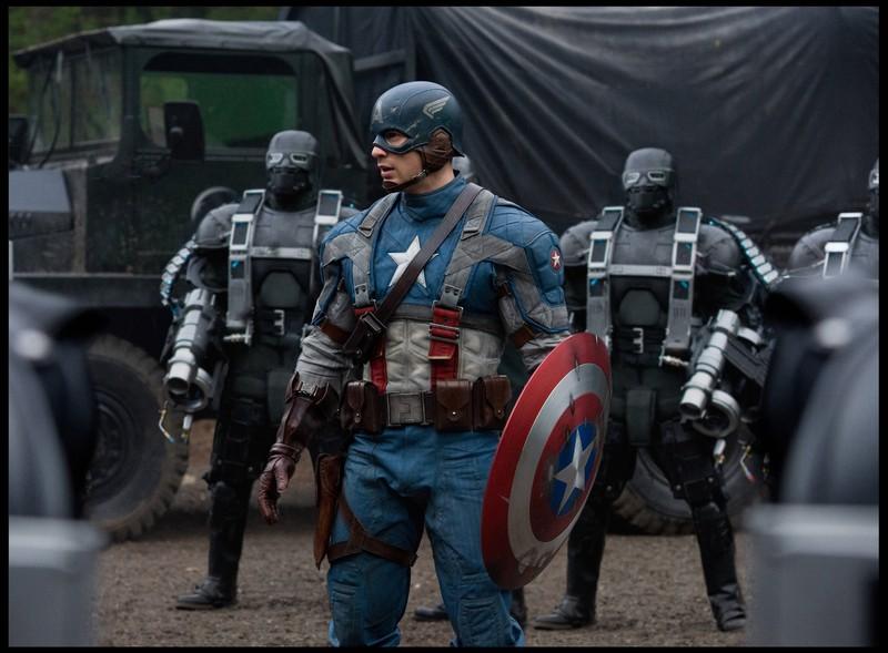Captain America: The First Avenger ist der zweite Film am Marvel-Day auf ProSieben