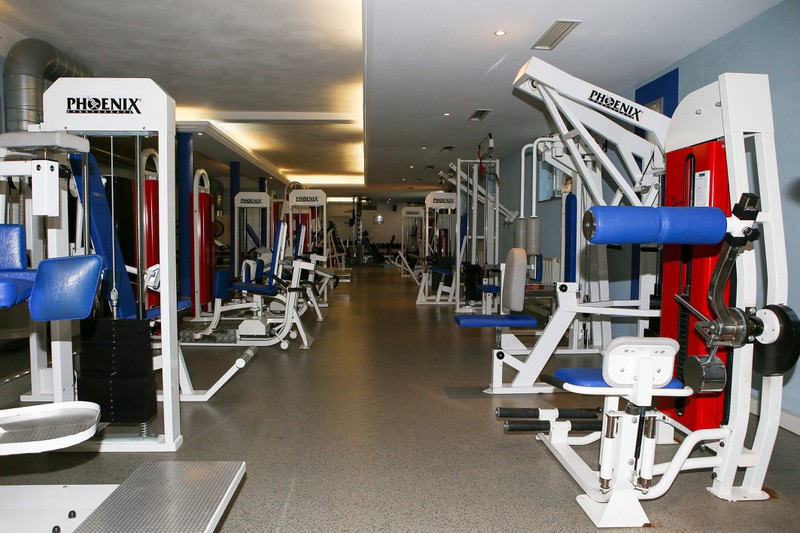 Ein Fitnesstudio wurde geschlossen