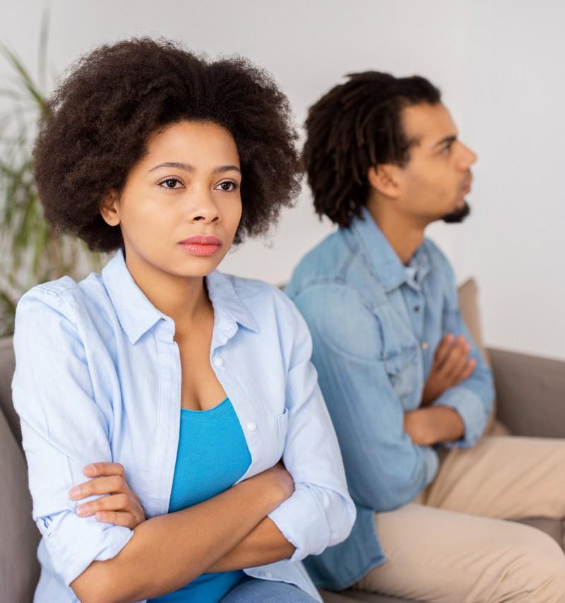 Eine Frau findet ihren Mann einfach nicht mehr gut