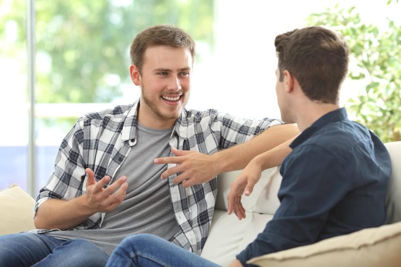 Wahre Freunde sind auch in schweren Zeiten an deiner Seite.