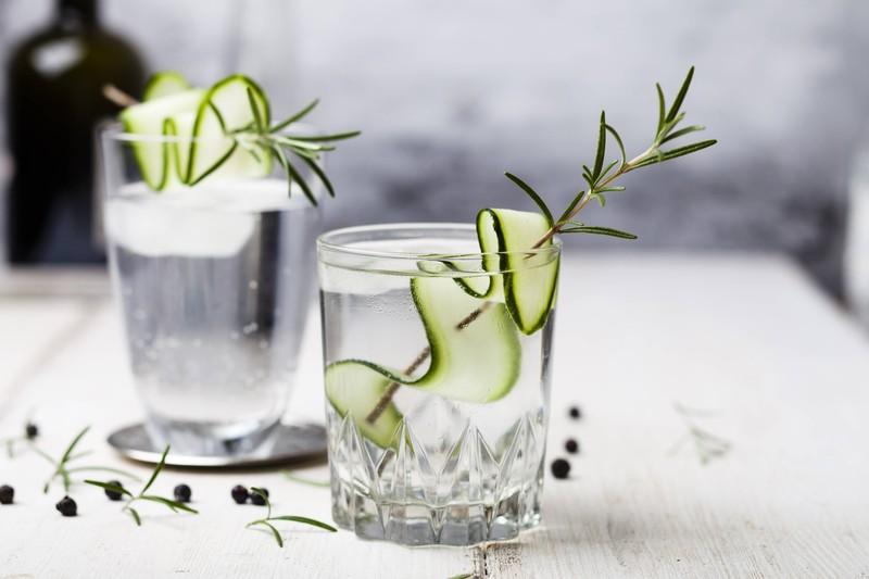 Die Garnitur ist für Gin sehr wichtig