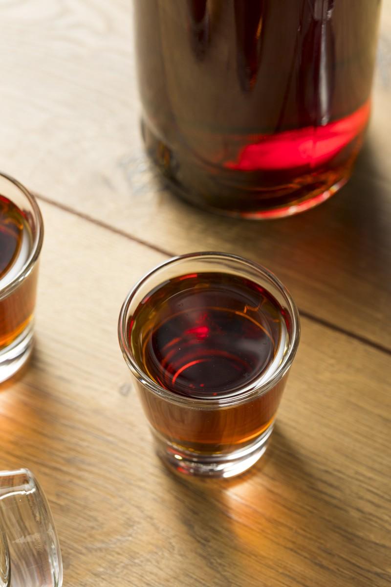 Sloe Gin ist ebenfalls eine leckere Angelegenheit
