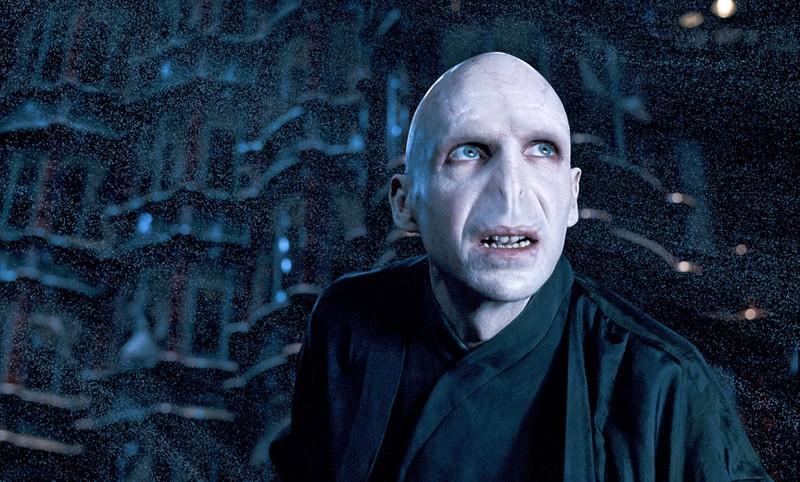 Lord Voldemort ist ein Bösewicht, der in die Filmgeschichte eingegangen ist