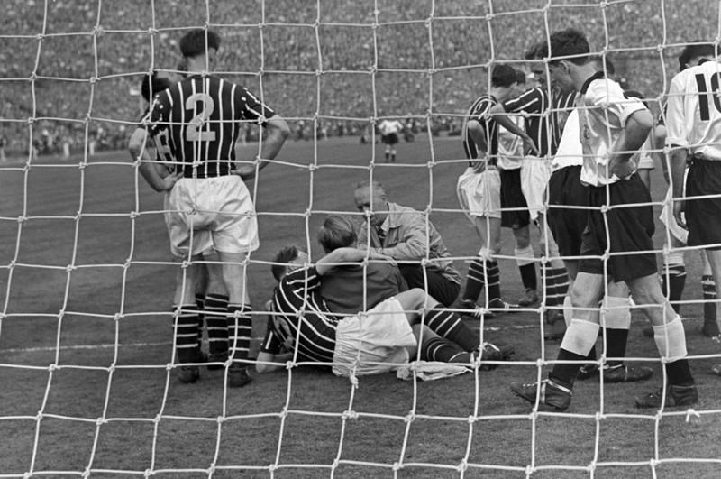 Vor allem mit dem FA Cup-Finale 1956 wurde der deutsche Torhüter Trautmann in England zur Legende